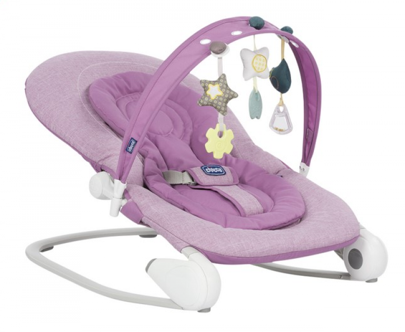 Relax Chicco hoopla bouncer lilla