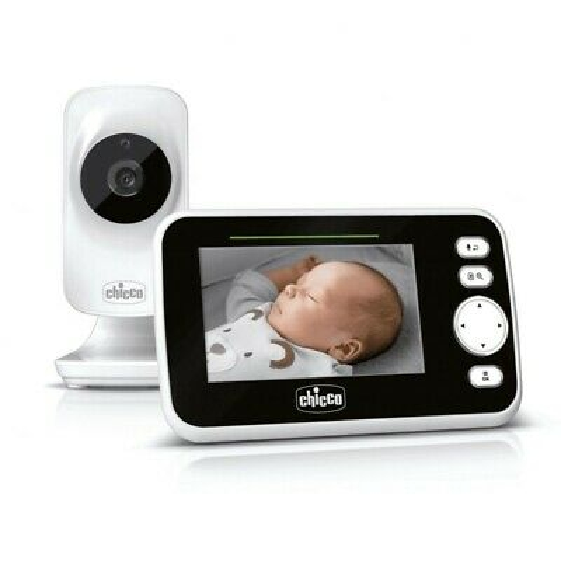 CHICCO BABYPHONE VIDEO BABY MONITOR DELUXE