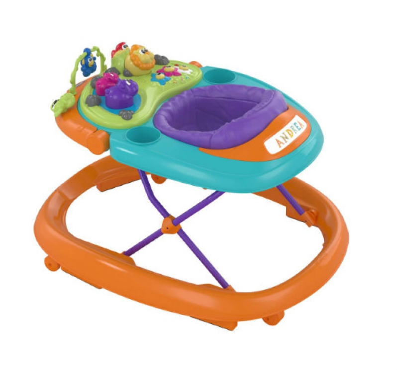 CHICCO TROTTEUR TALKY WALKY ORANGE WAVE