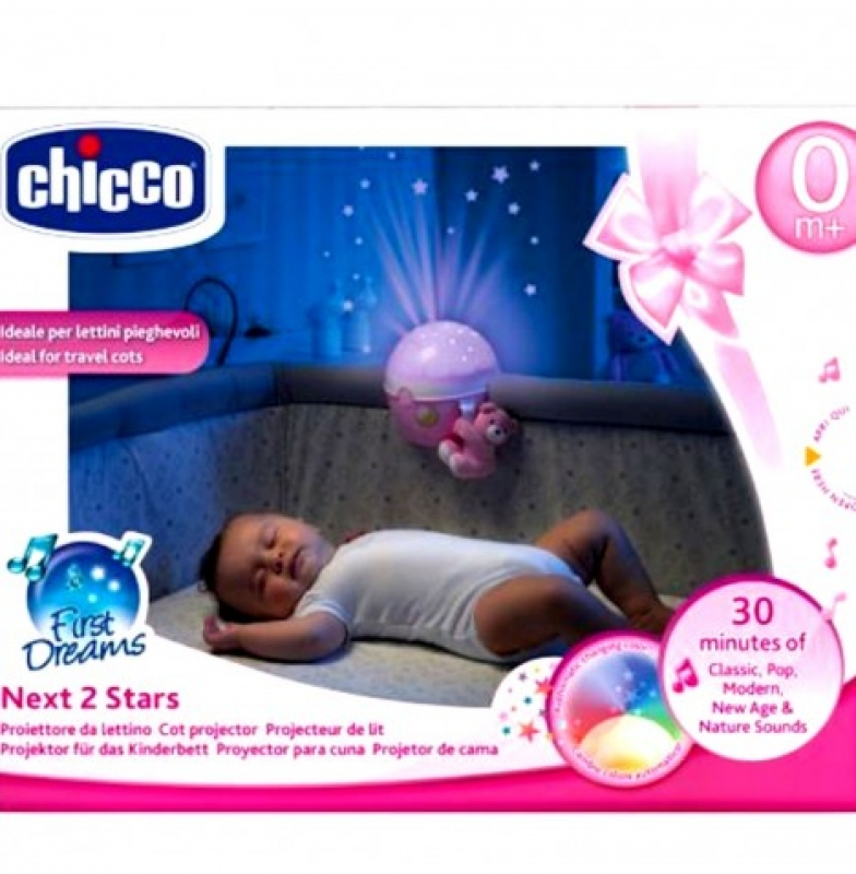 CHICCO NEXT TO STAR PINK