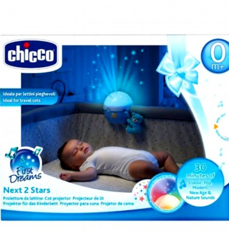 CHICCO NEXT TO STAR BLUE