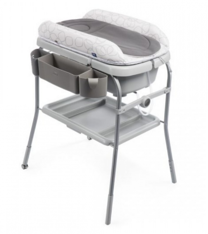CHICCO CUDDLE AND BUBBLE GREY