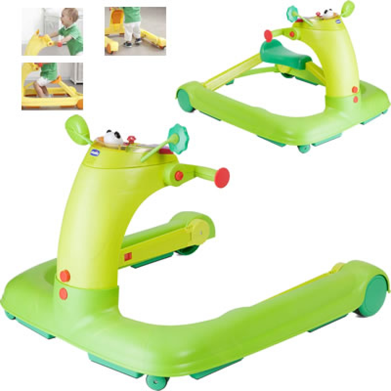 TROTTEUR CHICCO 1 2 3 GREEN