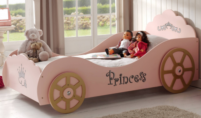 VIPACK PRINCESS PINKY CAR BED