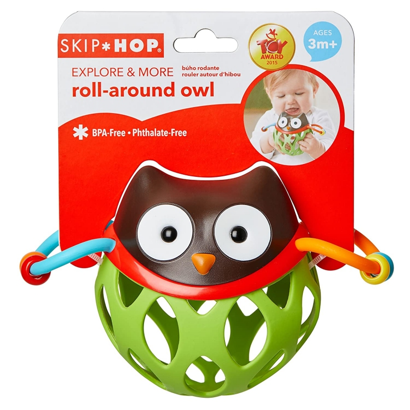 SKIP HOP ROLL-AROUND OWL