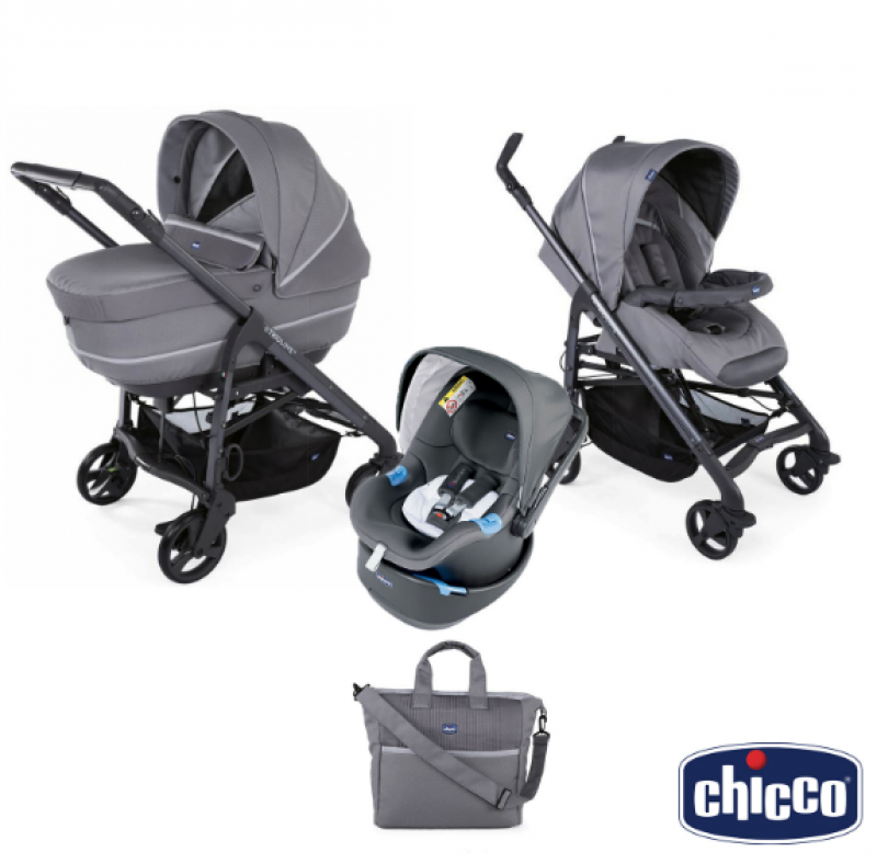 Chicco Trio Love Cool Grey