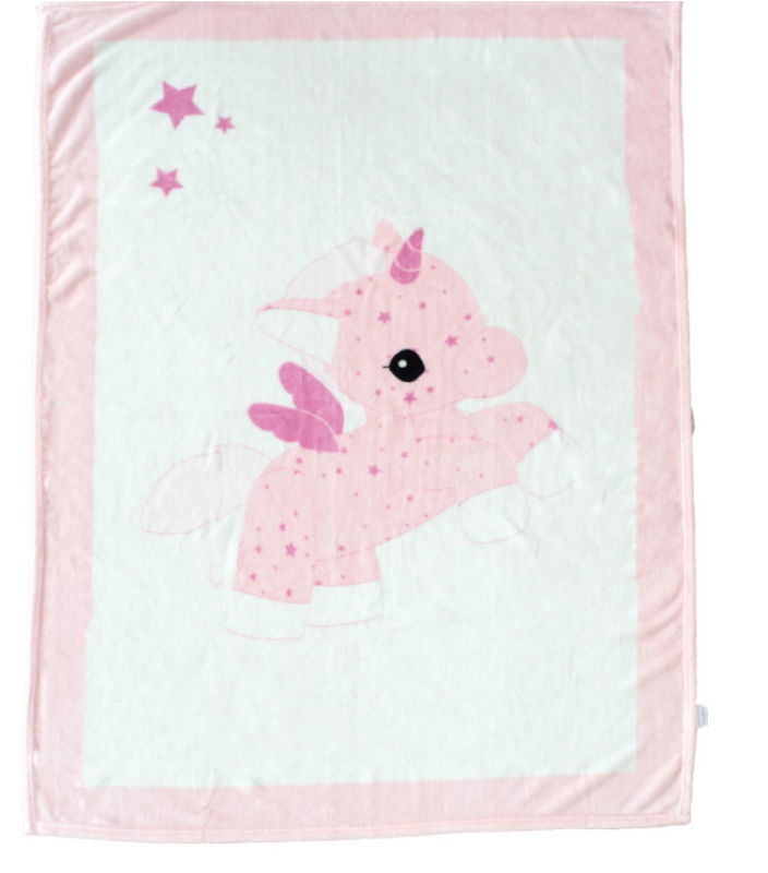 couverture jolly domiva la licorne
