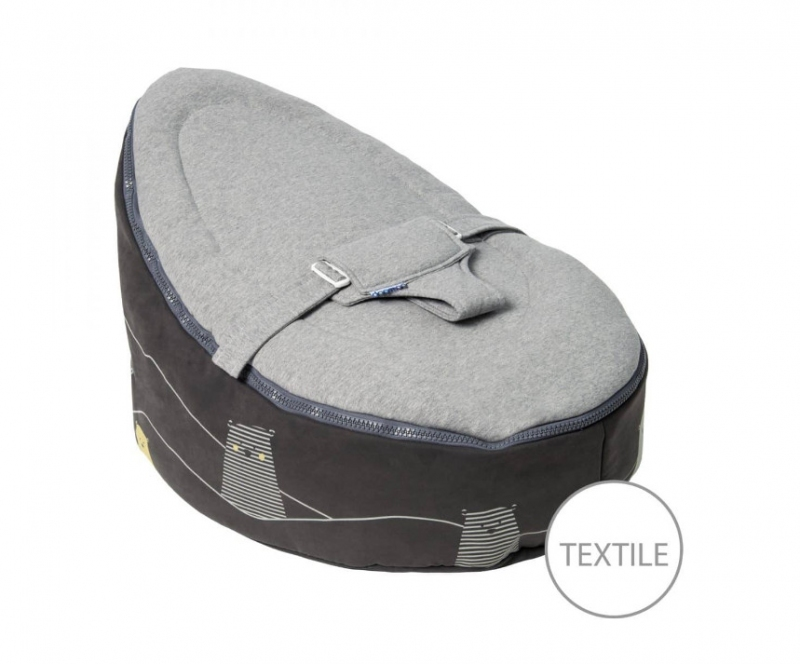 DOOMOO SEAT BEAR GREY