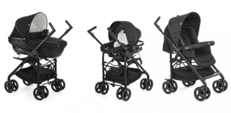 TRIO CHICCO SPRINT BLACK NIGHT