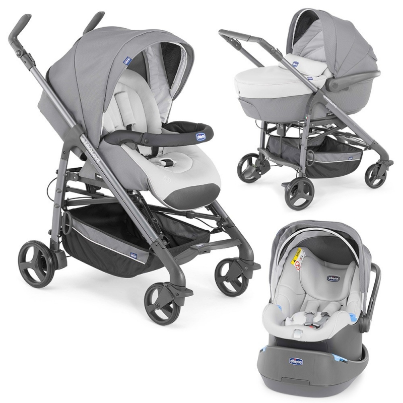 CHICCO TRIO LOVE GRAPHITE