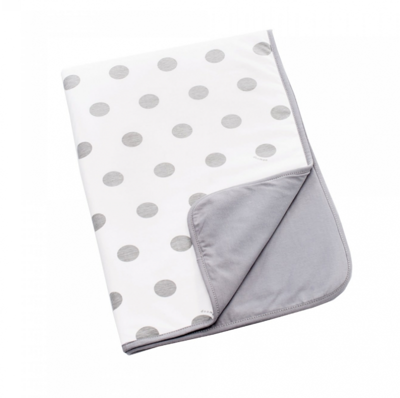 doomoo dream cotton dots grey