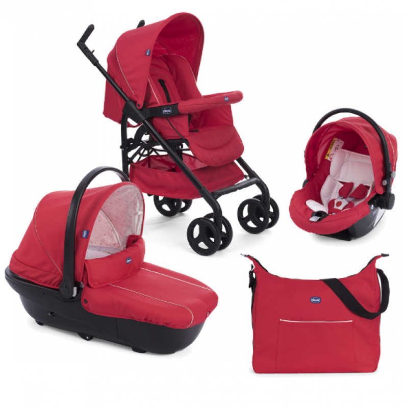 CHICCO TRIO SPRINT BLACK RED PASSION