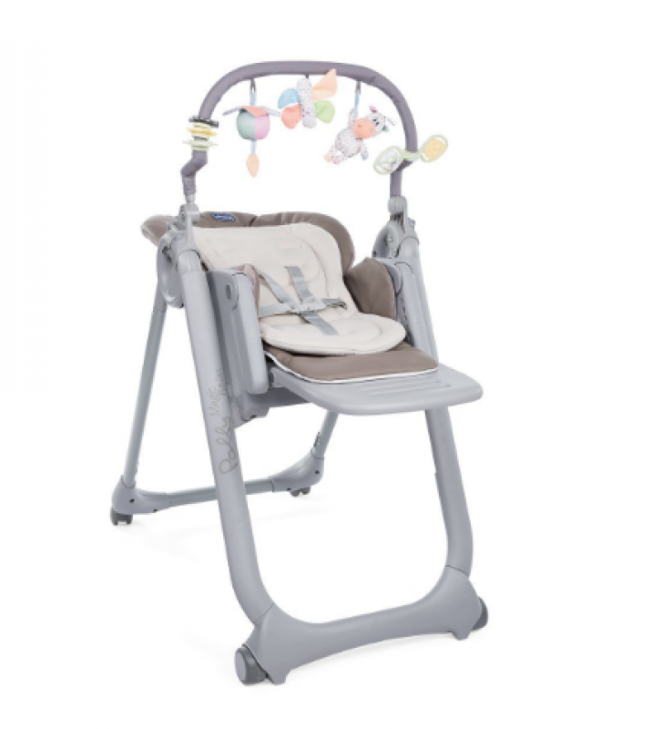 Chaise haute bébé Polly Magic Relax Cocoa