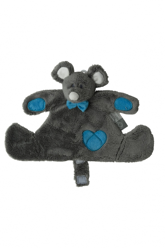 DOUDOU MOUSE BLUE PERICLES