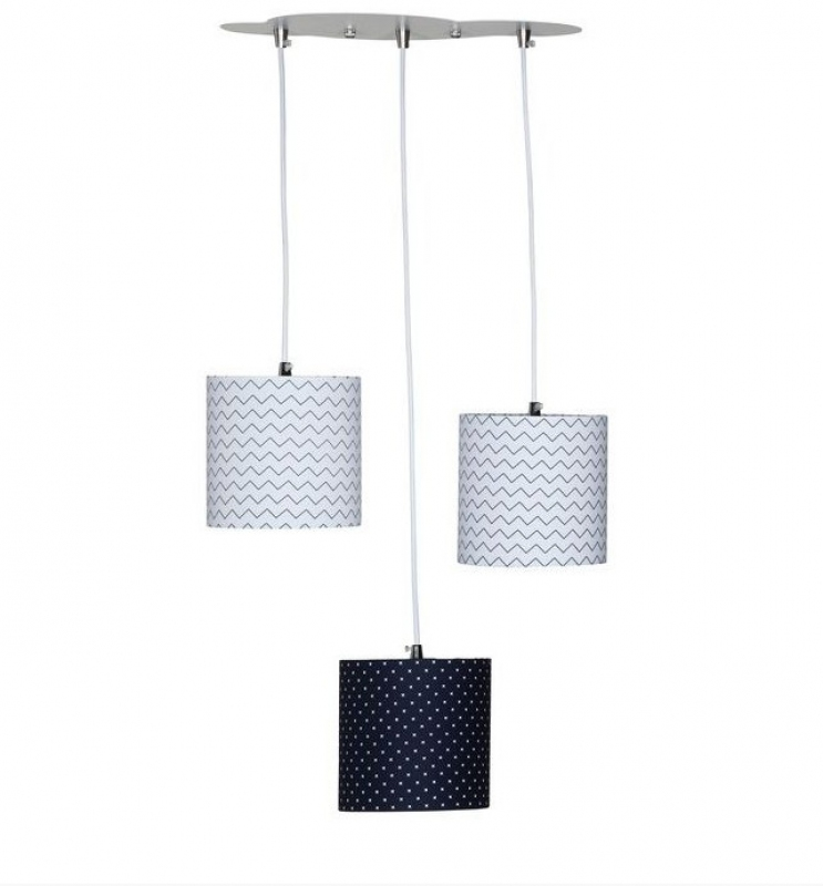 Suspension lumineuse trio Hello