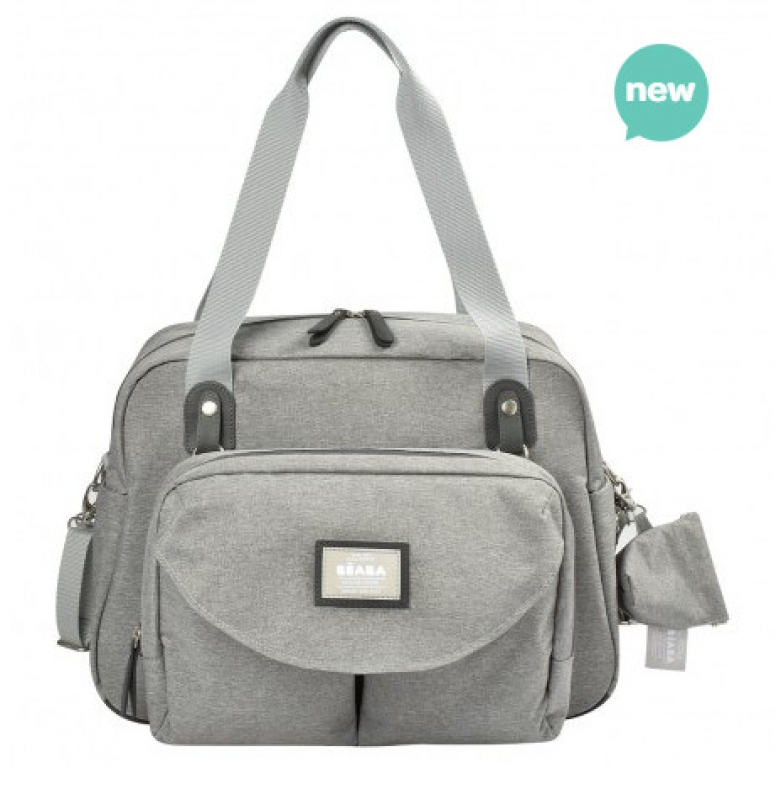 SAC GENEVE 2 GRIS CHINE chiné