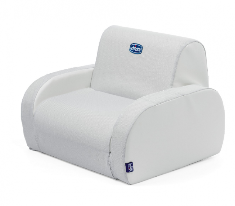 Fauteuil Twist White Snow