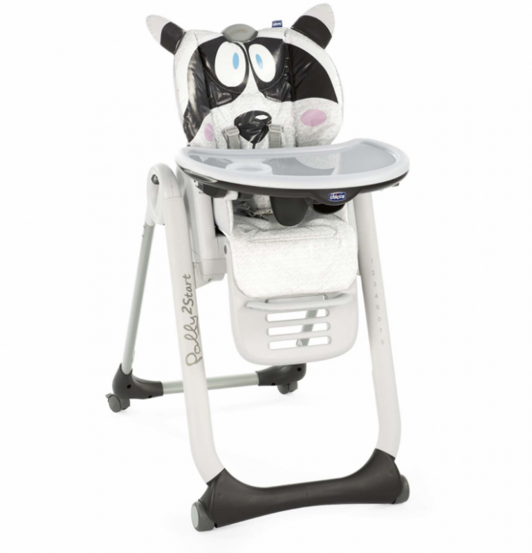 CHAISE CHICCO POLLY 2 START HIGHCHAIR HONEY-BEAR