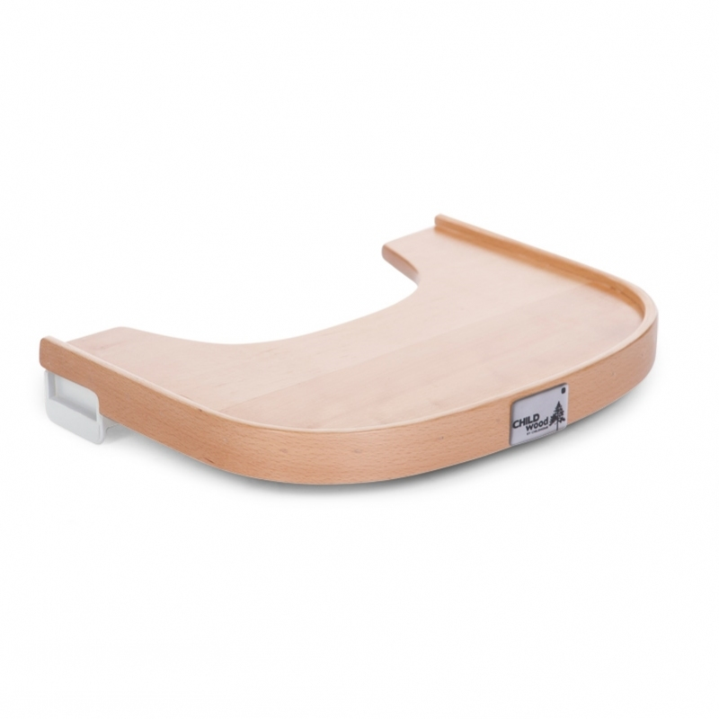 EVOLU 2 TABLETTE DE CHAISE EN BOIS NATUREL