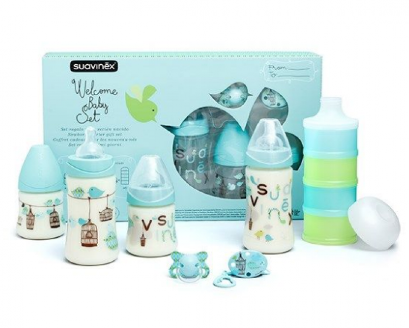 Welcome Baby Set Suavinex Boy Blue