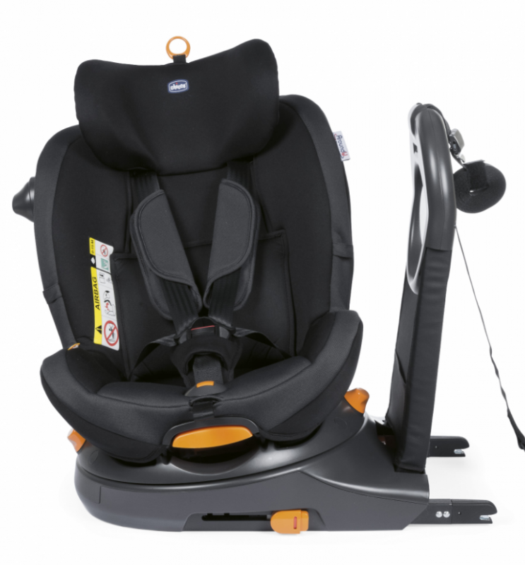 CHICCO SIEGE-AUTO GR0/1 AROUND U I-SIZE JET BLACK