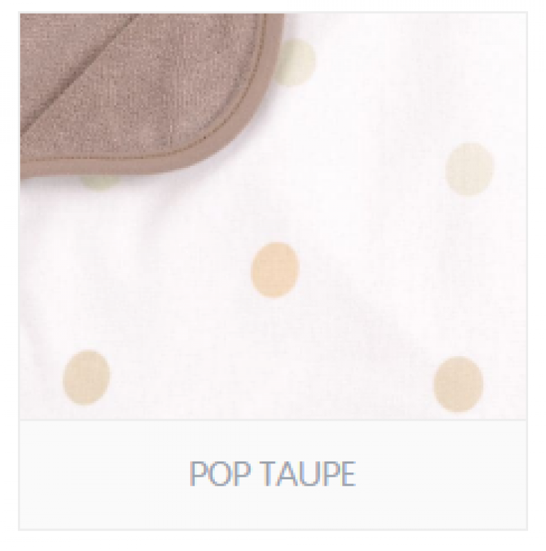 COUVERTURE POP TAUPE