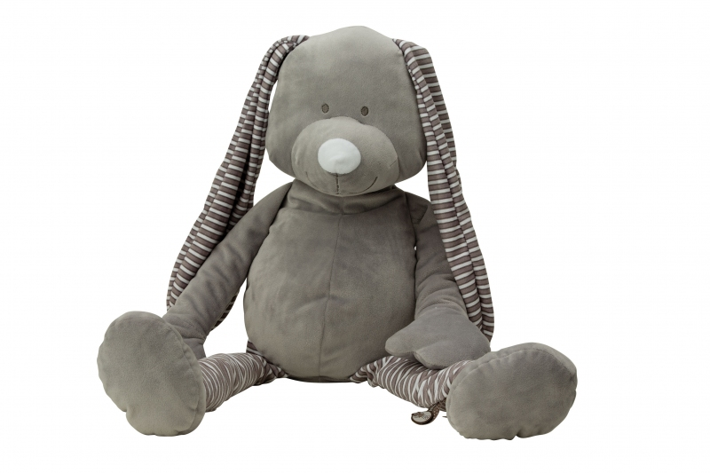 PELUCHE MUSICALE HAPPY GREY 24CM