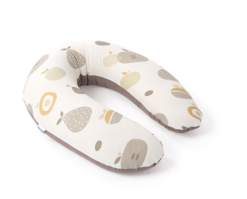 DOOMOO COUSSIN ALLAITEMENT BUDDY FRUIT TAUPE
