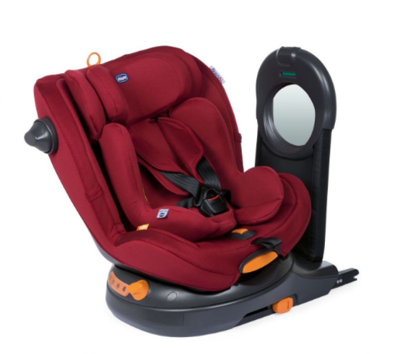 CHICCO SIEGE-AUTO GR0/1 AROUND U I-SIZE RED